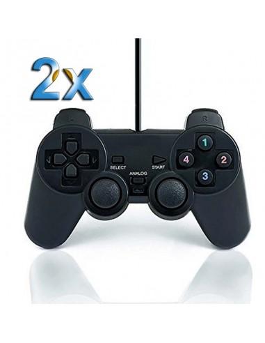 2x Mando Retro tipo PSX - USB
